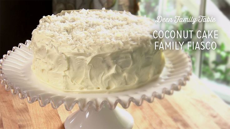 Coconut Cake Family Fiasco