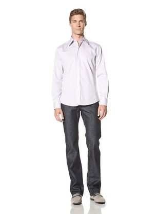 Versace Collection Men's City Fit Checkered Shirt