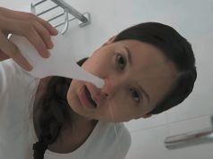 Skvělý trik, který Vás ochrání před zánětem dutin, rýmou a nachlazení..