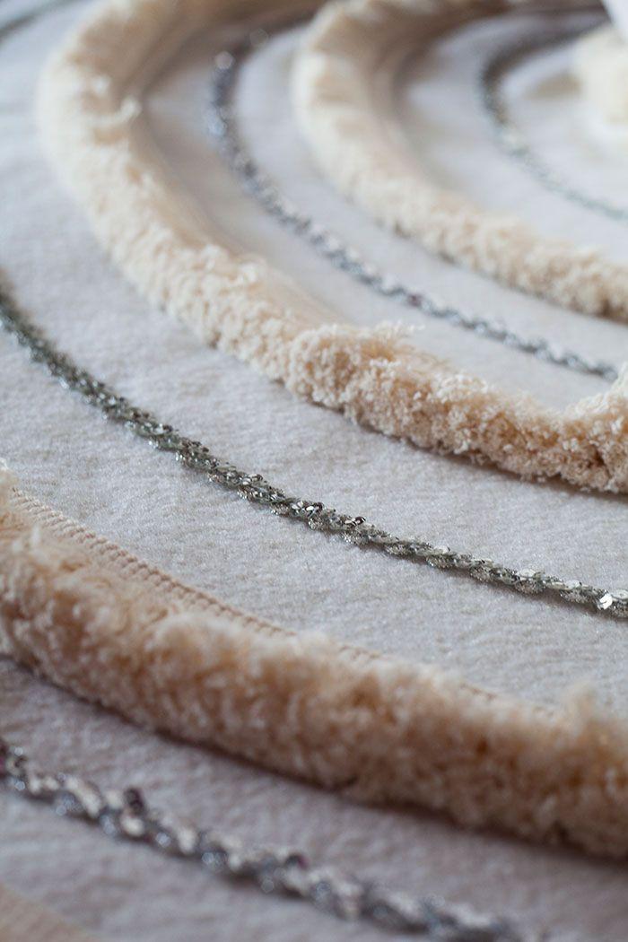 DIY Moroccan Wedding Blanket Tree Skirt by The Makerista for Design*Sponge