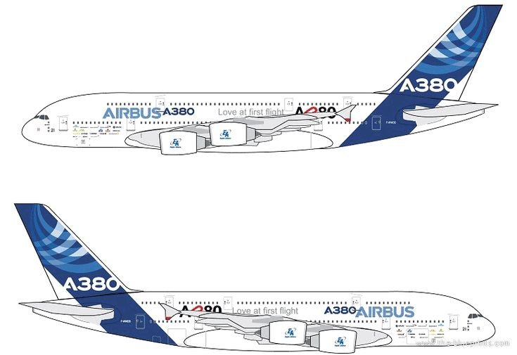 Side By Side Pictures >> Airbus A380 side view | Cake Order Inspiration | Pinterest | Airbus A380