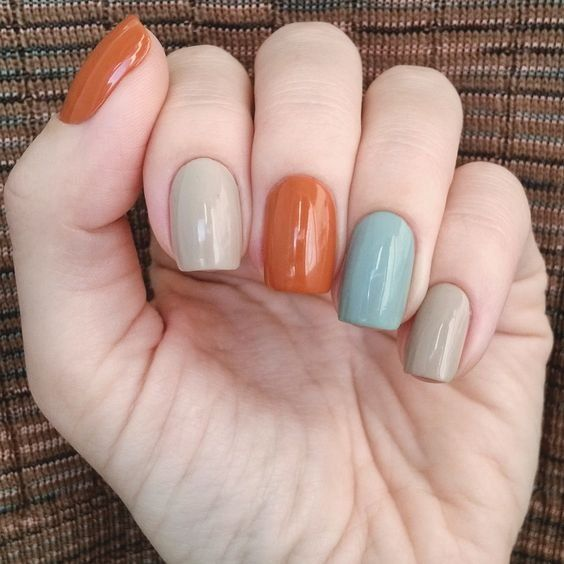 Erstaunliche Nagel Kunst Farben Kombination Themes