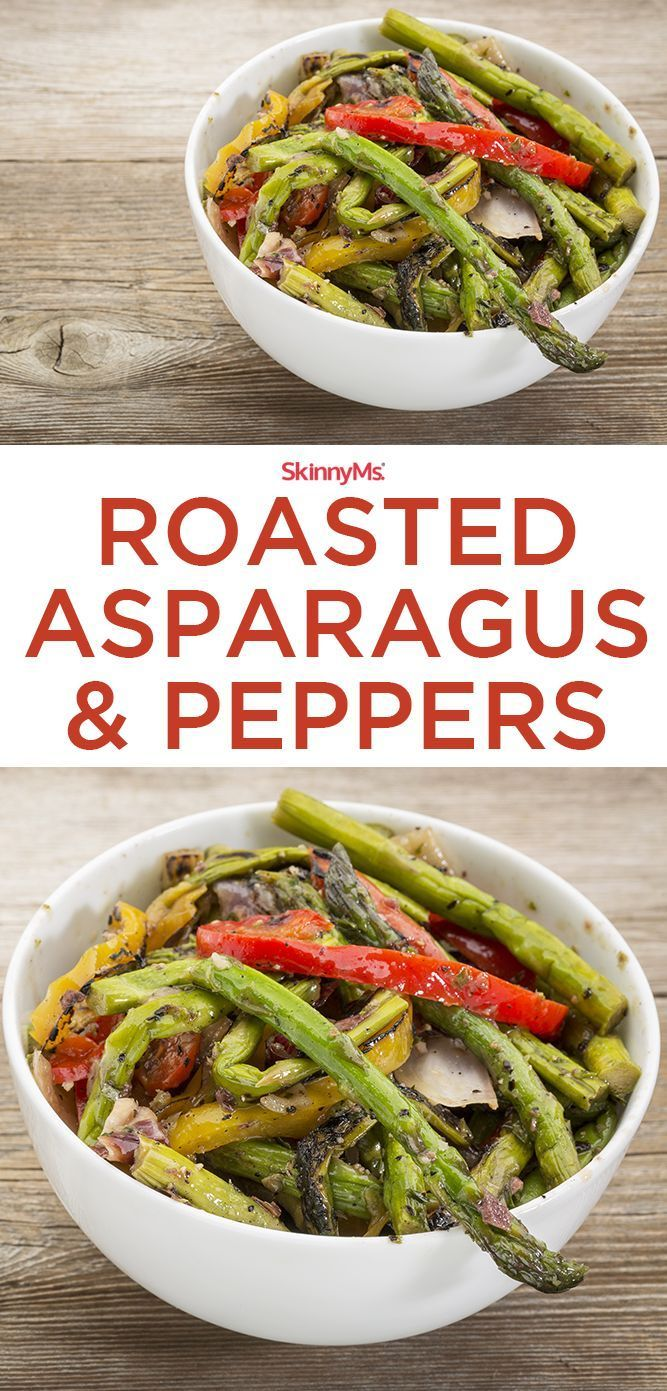 Roasted Asparagus & Peppers - easy and packed with superfood nutrition ...