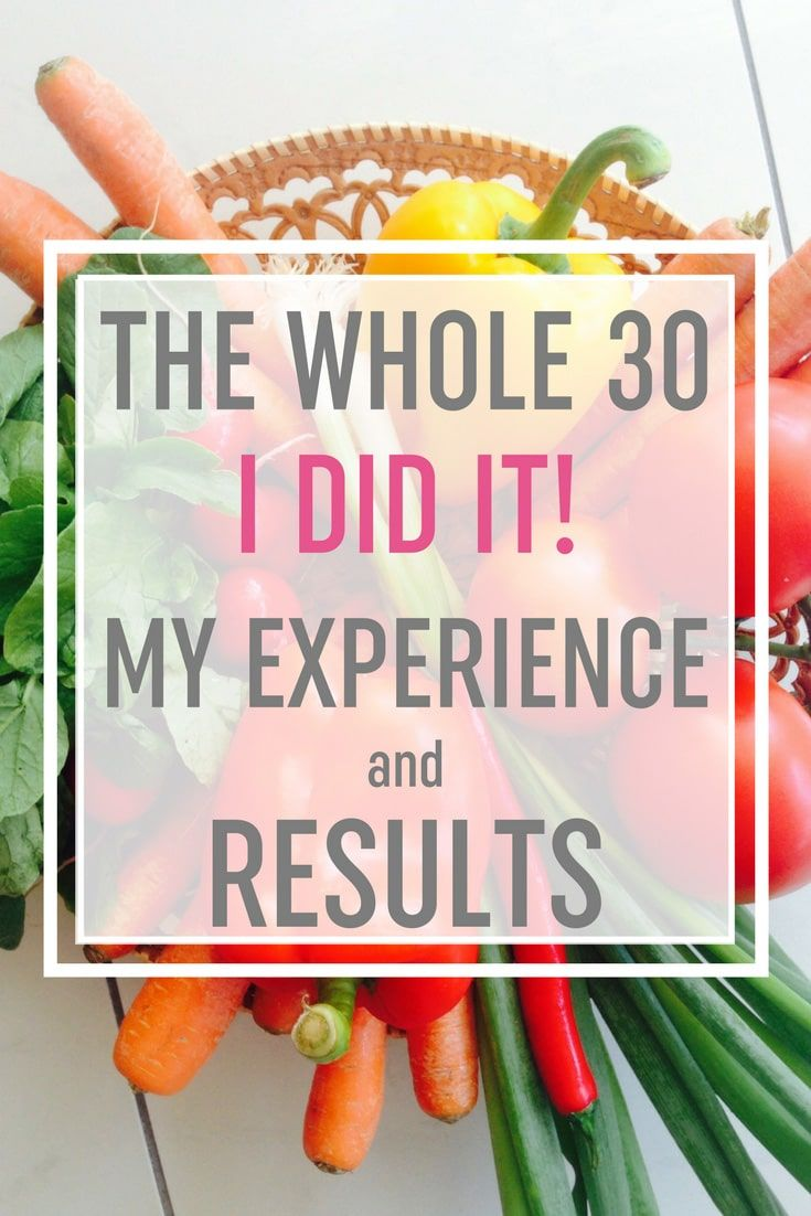 'I Went on the Whole30 Diet and This Is What Happened'