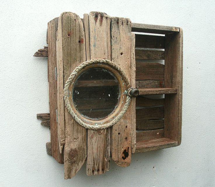 large flat driftwood furniture ideas | Julia's Driftwood Furniture Driftwood Wall Cabinet 04