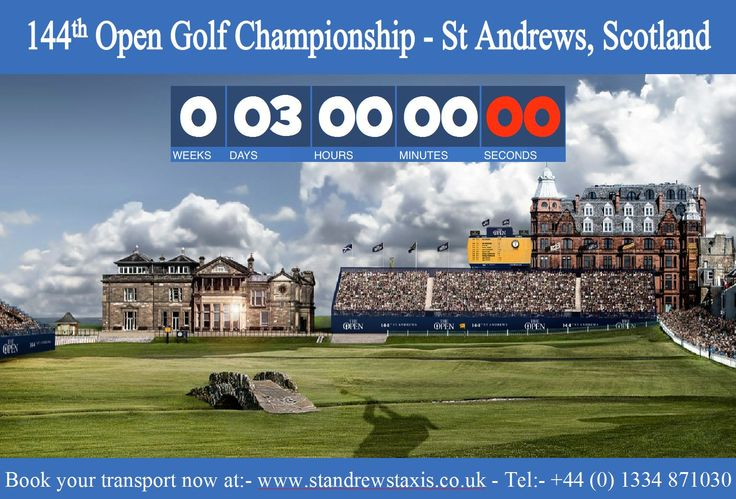 144th Open Golf Championship St Andrews