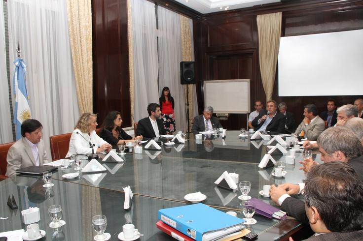 Reunión de empresarios con la Secretaria de Comercio Exterior de la Nación, Beatriz Paglieri.