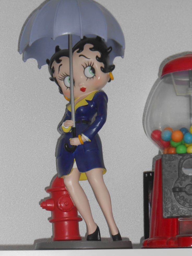 Betty Boop Umbrella Mijn eigen