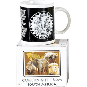 Big 5 Mug in a box. (product code B5-8) Price includes vat and shipping charge. Subject to supplier availability.