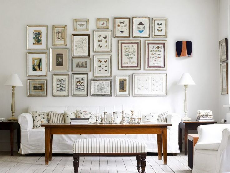 208 best Living Rooms Collection images on Pinterest Living room - how to decorate a long wall in living room