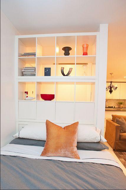 Idea  para separar ambiente en un apartamento