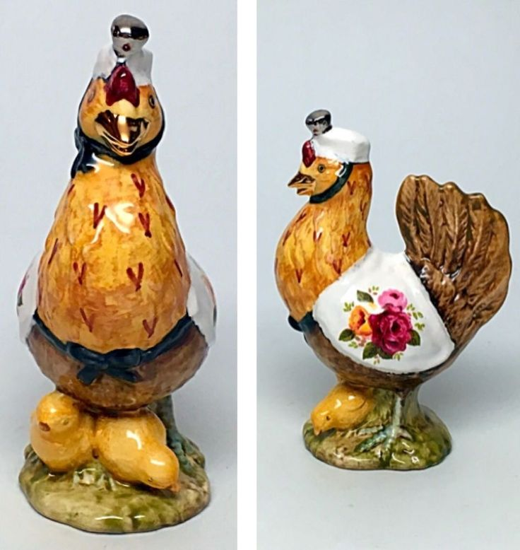 "Country Bouquet -Beswick Beatrix Potter Figurine ""Sally Henny Penny ""  