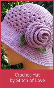 Crochet chemo hat pattern  Made from Sugar and Cream Cotton Yarn