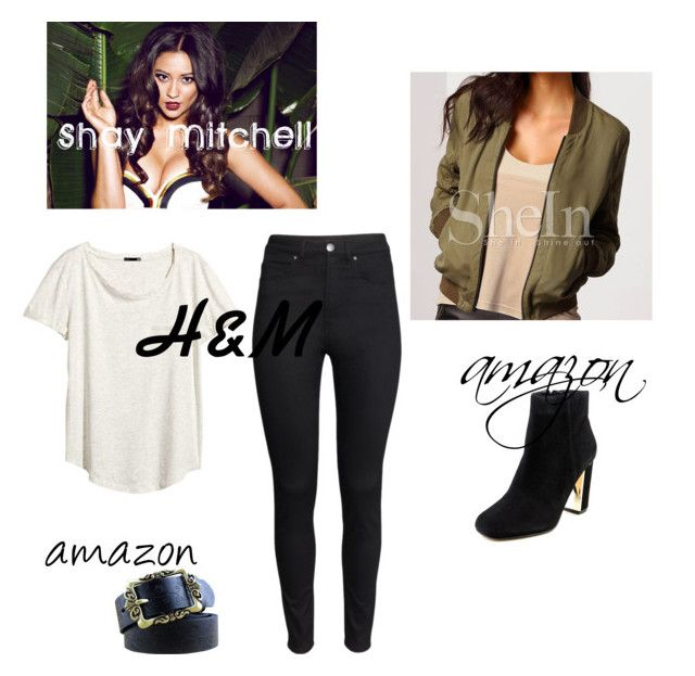 """""""Shay Mitchell Style"""" by saragrodrigues on Polyvore featuring moda, H&M e Dune"""