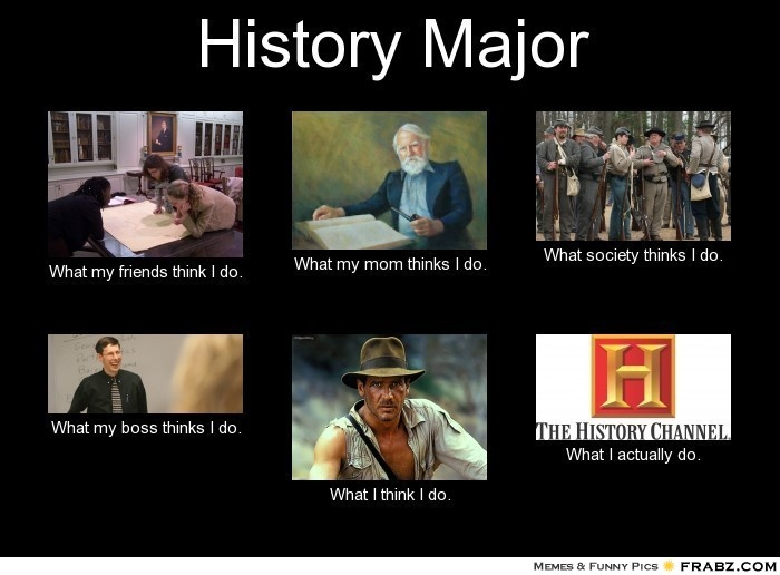 what is the history of major History majors must complete 36 credit hours of history courses (listed below) at  least five of the courses for the major must be taken at northeastern.