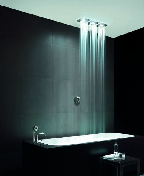 Zucchetti, Soffione doccia Isy Shower with integrated
