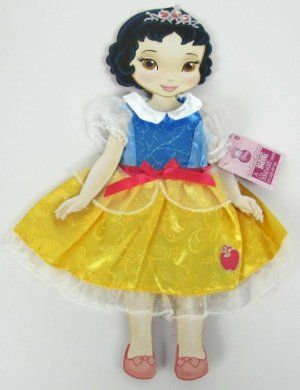 "My First Disney Princess Doll Snow White Once Upon a Time Fashion Outfit Fits 15"" Doll by Disney. $9.99. Once Upon A Time Fashion series. Fits ""My FIrst Disney Princess"" Toddler Dolls and all 14"" and 15""dolls. Dress up your Disney Princess Toddler Doll with the beautiful dresses from Once Upon A Time Fashion series. Disney Princess Theme outfits for use with ""My First Disney Princess"" Toddler Dolls or any 14"" - 15"" dolls. Choose from Ariel, Aurora, Belle, Cinder..."