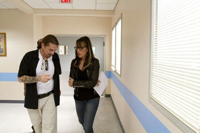 Kurt Sutter & Katey Sagal | Sons of Anarchy and Charlie ...