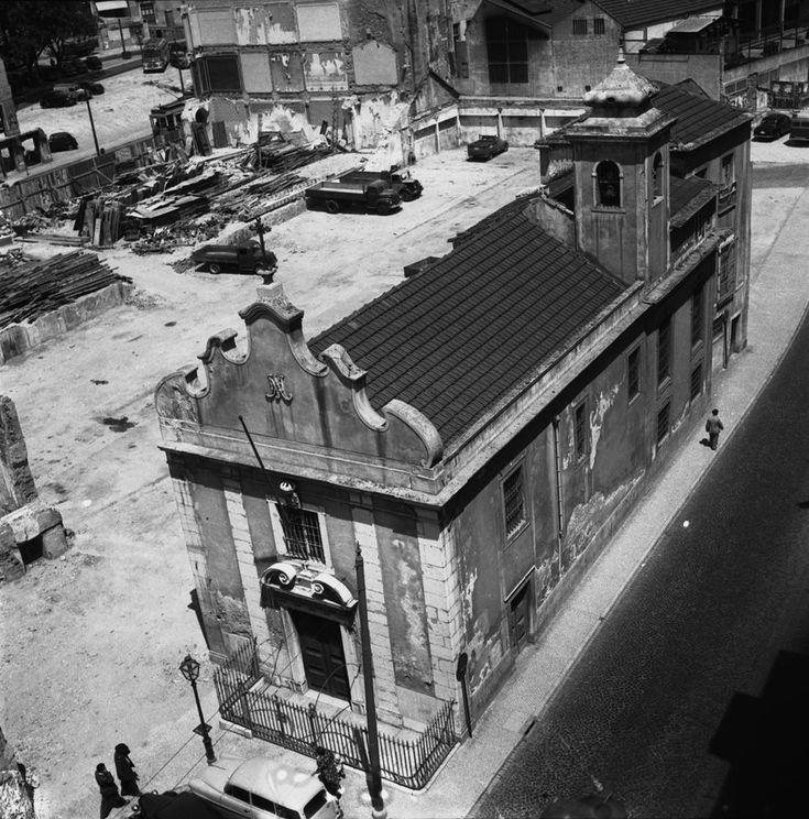 Ermida de Nossa Senhora da Saúde, 1958, foto de J