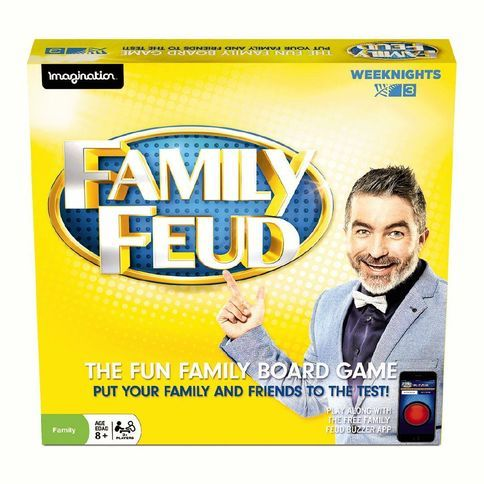 Family Feud NZ Edition Board Game #Shoproads #onlineshopping #Gaming Titles