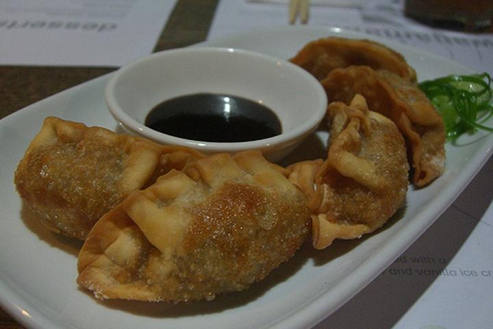 Apple Dumplings With Blackberry Sauce