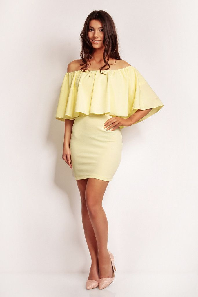 Dress With Big Frill – Kiss and Belle Boutique