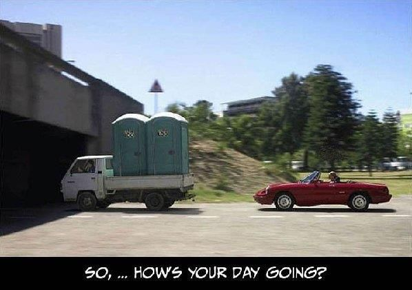Monday worse than normal in 3, 2, 1...Trucks, Funny Things, Real Life, Funny Pictures, Demotivational Posters, Funny Stuff, Funny Photos, Humor, Bridges