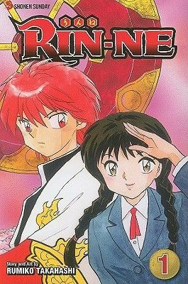 Rin-Ne 1 (Rin-Ne, #1): Rumiko Takahashi    As a child Sakura Mamiya mysteriously disappeared in the woods behind her grandma's home. She returned whole and healthy, but since then she has had the power to see ghosts. Now a teenager, she just wishes the ghosts would leave her alone! At school, the desk next to Sakura's has been empty since the start of the school year, then one day her always-absent classmate Rinne Rokudo shows up, and he's far more than what he seems!