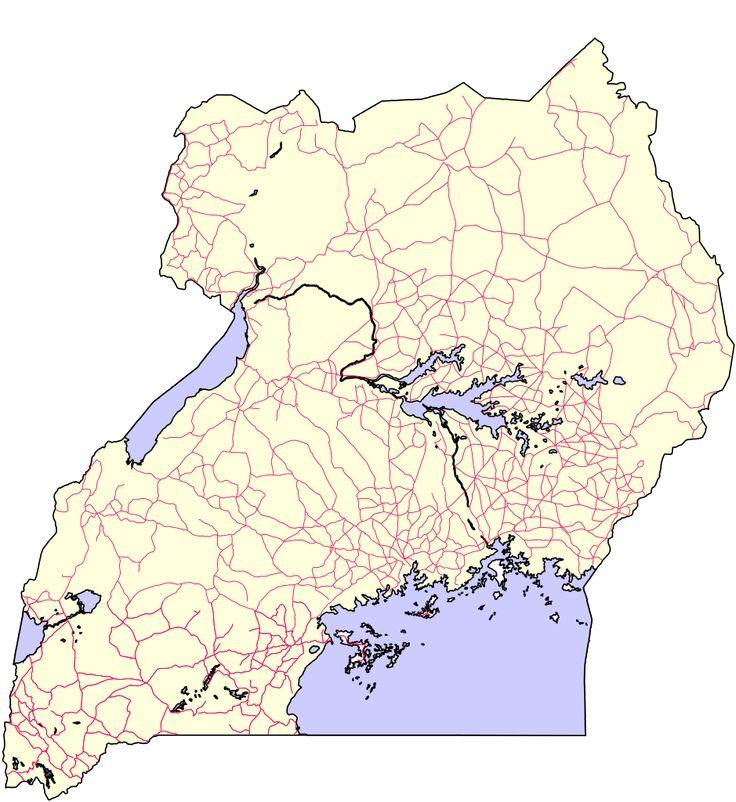 Roads of Uganda