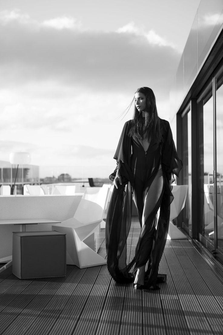 Couture, Black & White Fashion Photography, Model Angelica Salomao