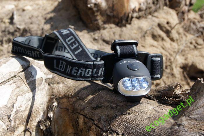 Bat - perfekcyjna czołowa latarka LED. Doskonałe połączenie trwałych materiałów, wydajnych diód LED i funkcjonalności. Bateria ładowana za pomocą korbki. 3 tryby świecenia: 1 LED, 3 LED, 3 LED migający. W zestawie uchwyt do roweru! / Bat - perfect dynamo head LED light. A perfect combination of durable materials, efficient LEDs and functionality. Battery charged by dynamo. Three modes: 1 LED, 3 LED, 3 LED flashing. Set contains bicycle clip holder.  PLN54.99 / $19