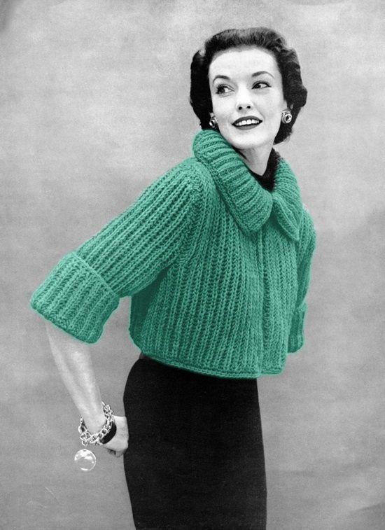 Vintage Bolero Sweater