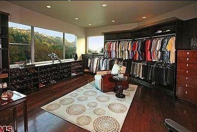 Chelsea Handler's closet