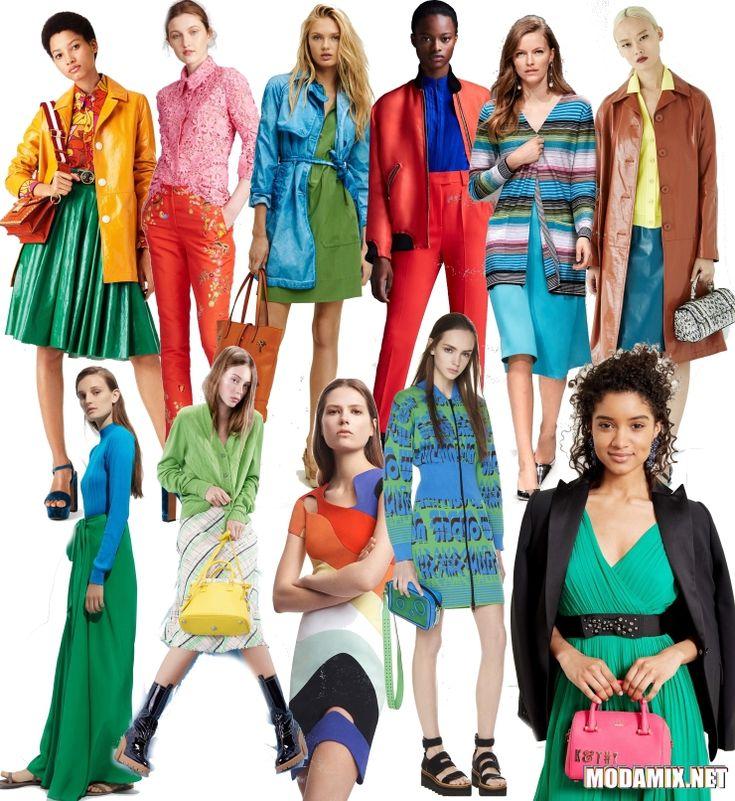 Весной 2017 в моде яркие цвета