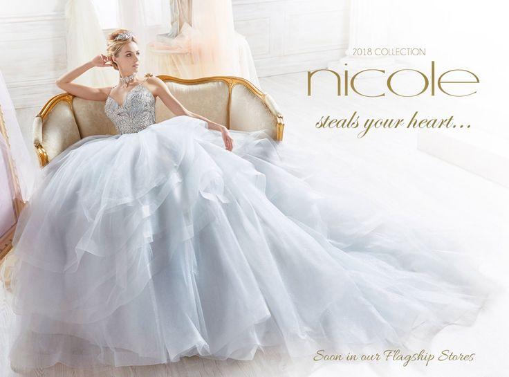 Nicole Spose wedding dresses, Wedding Dresses 2018, Nicole Fashion Group