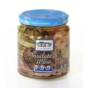 Casa Rinaldi - Insalata di Mare 280g // Mix mořských plodů v oleji ze slunečnicových semínek.