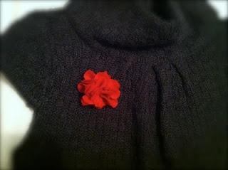 Cute flower pinFelt Flower