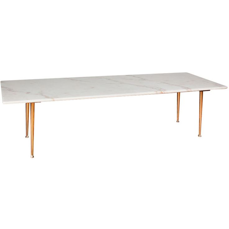 Narrow Rectangular Brass And Marble Coffee Table By Edward: Best 25+ Mid Century Coffee Table Ideas On Pinterest