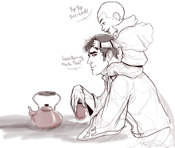 I feel like General Iroh II would be great with kids …