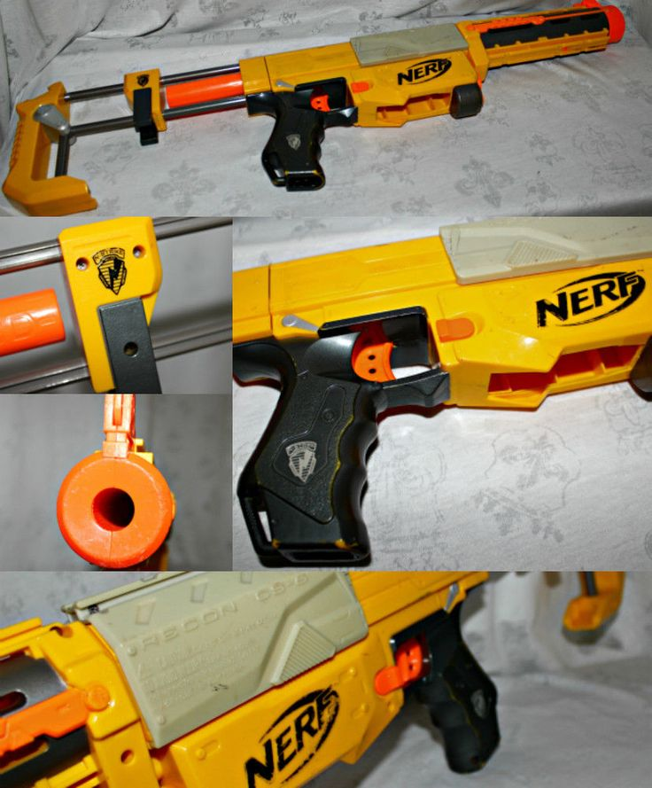 Nerf N-Strike Recon CS-6 Soft Dart Blaster