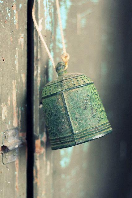:O)): Colour, Vintage, Bells Windchimes, Color, Green, Photo