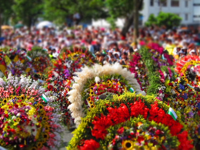 Festival of Flowers  Medellin, Colombia