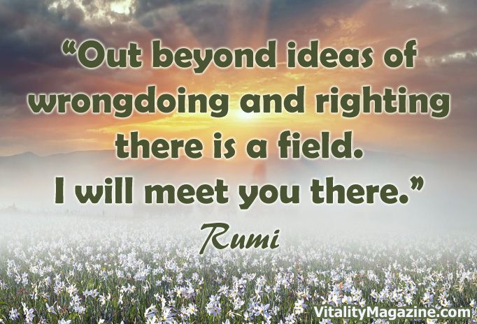 """""""Out beyond ideas of wrongdoing and righting there is a field. I will meet you there."""" ~ Rumi.   Planting Seeds of Change for the Highest Good of All, By Kim Elkington"""