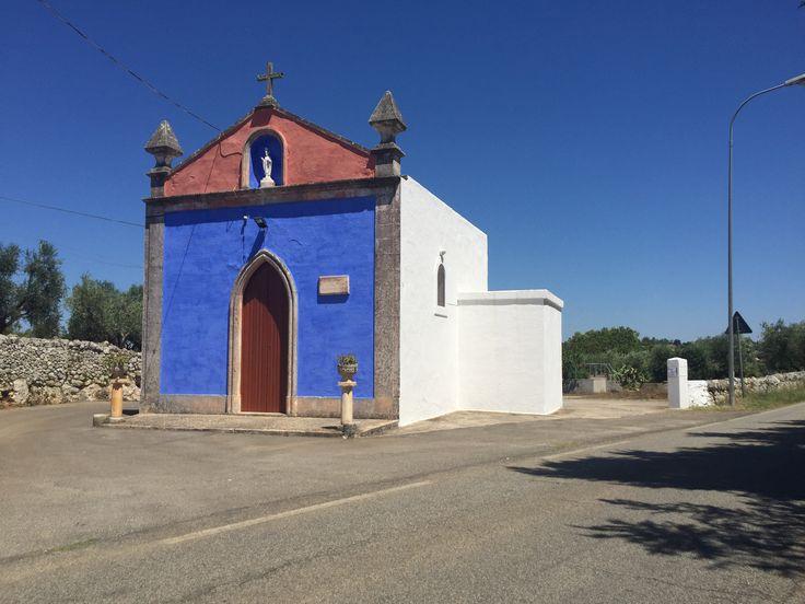 Igrejinha perto a Martina Franca (Puglia)