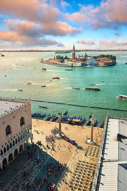 Plaza de San Marcos en #Venecia.