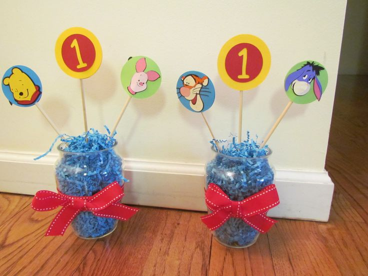 Baby Shower Decorations Canada ~ Baby boy shower winnie the pooh supplies