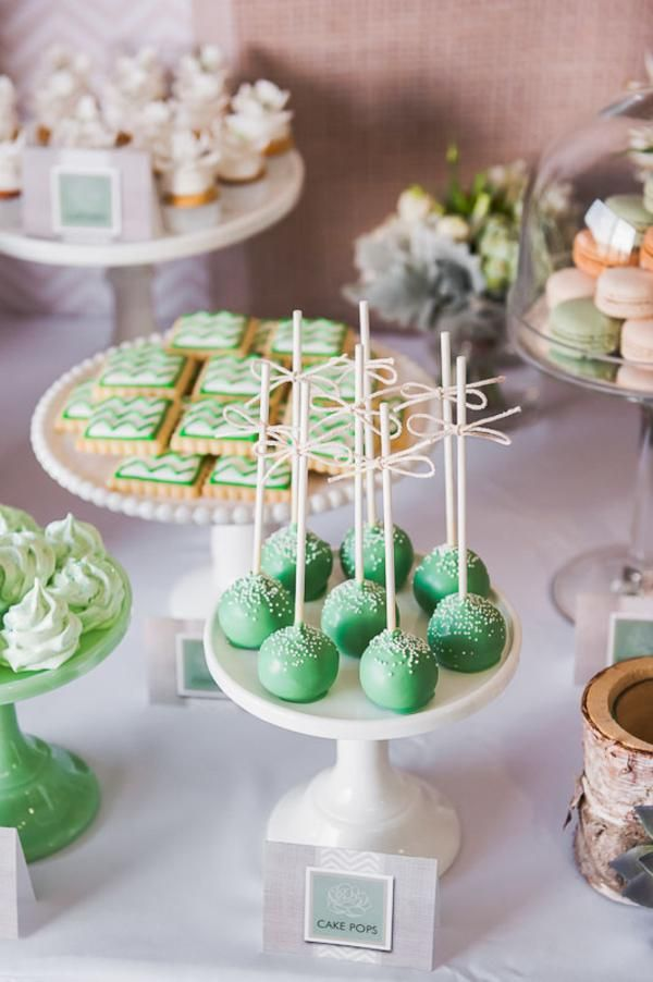 Organic Green Natural Rustic 40th Cake Birthday Party Planning Ideas