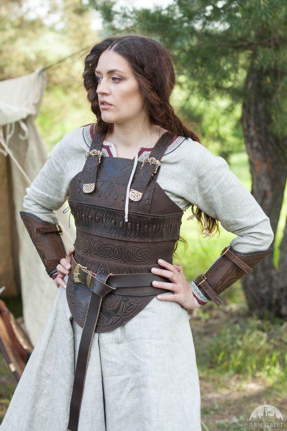 DISCOUNTED PRICE Medieval Women's Armor Shieldmaiden por armstreet