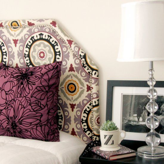 Skip the boring, neutral bed and choose a headboard upholstered in a bold and vibrant print. Great way to add color and your Inn's style with a neutral background.