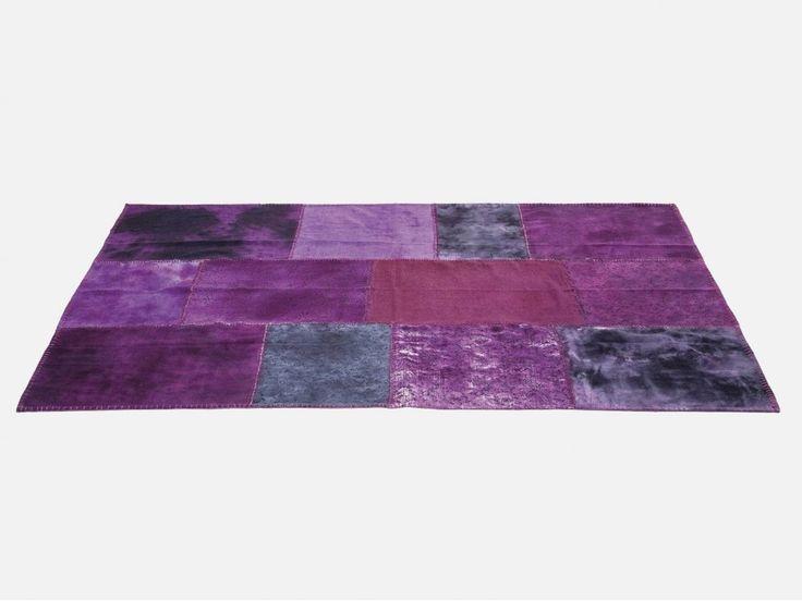 Dywan Patchwork II fioletowy — Dywany — KARE® Design